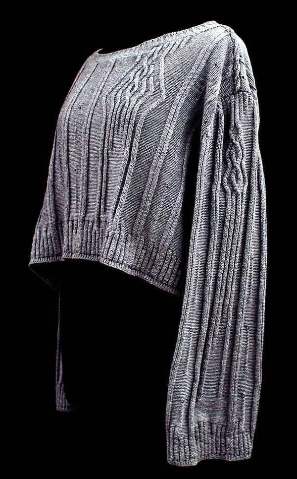 knitGrandeur: Designer:Kaitlin Wallace- FIT & Biagioli Modesto Collaboration 2018: Term Garment Project Featuring Cash 30