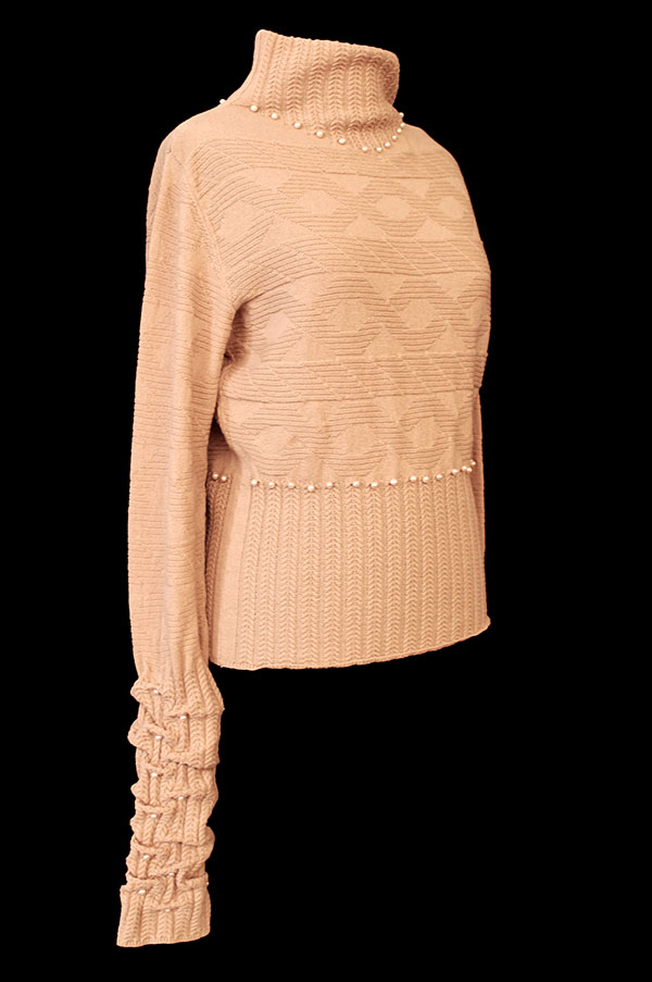 knitGrandeur: Designer: Billie Jean Delpy- FIT & Biagioli Modesto Collaboration 2018: Term Garment Project Featuring Cash 30