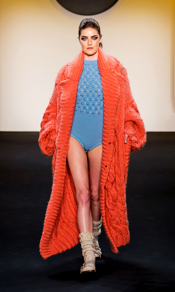 Designer: Thanh Lam- knitGrandeur: FIT The Future of Fashion 2019, Knitwear