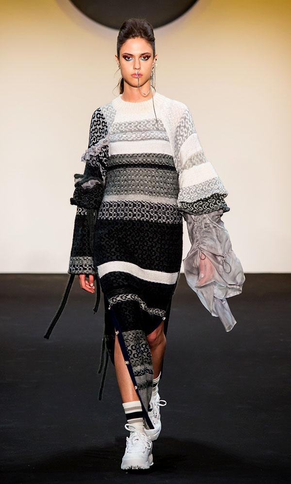 Designer: Juhee Ryu- knitGrandeur: FIT The Future of Fashion 2019, Knitwear