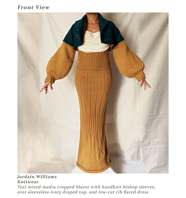 knitGrandeur: Designer Jordain Williams: FIT Future of Fashion 2020, Knitwear