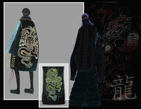 knitGrandeur: Designer: Qin Nan Li: FIT Future of Fashion 2020, Knitwear