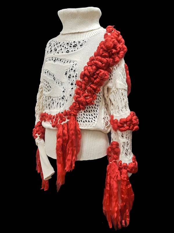Designer: Natalia Pugach- FIT & Biagioli Modesto Collaboration 2019: Term Garment Project Featuring Cash 30
