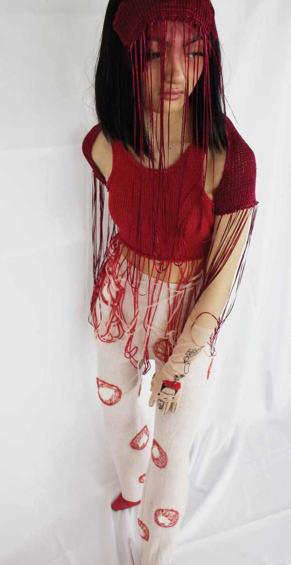 knitGrandeur- Liz (Zixuan) Li: FIT Future of Fashion 2021, Knitwear