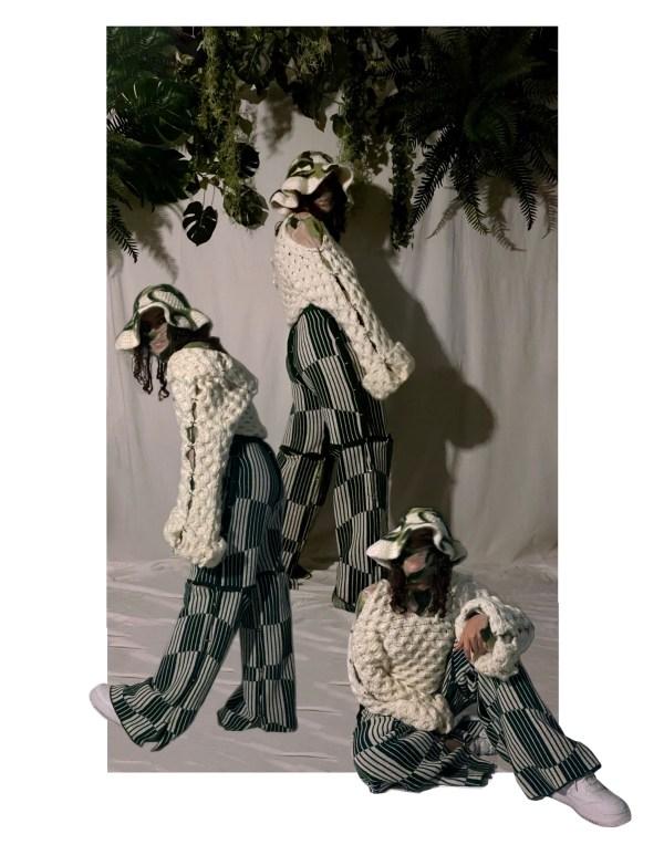 knitGrandeur- Designer Gabriela Villatoro: FIT Future of Fashion 2021, Knitwear