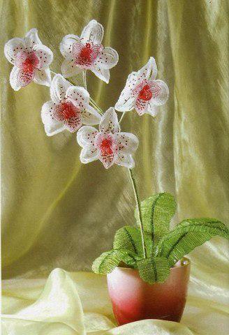 Орхидея схема изготовления