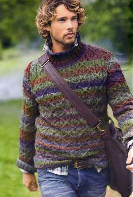 एक पुरुष स्वेटर कैसे बांधें