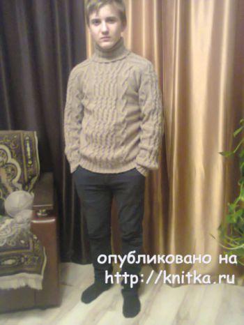 Tatiana Ivanovna से नर बुना स्वेटर