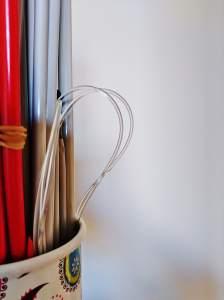 Circular needle in Knitting needle organiser