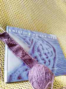 Knitting on the Edge Book and Knitting