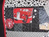 fire truck quilting detail