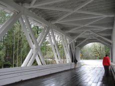 Hannah bridge inside