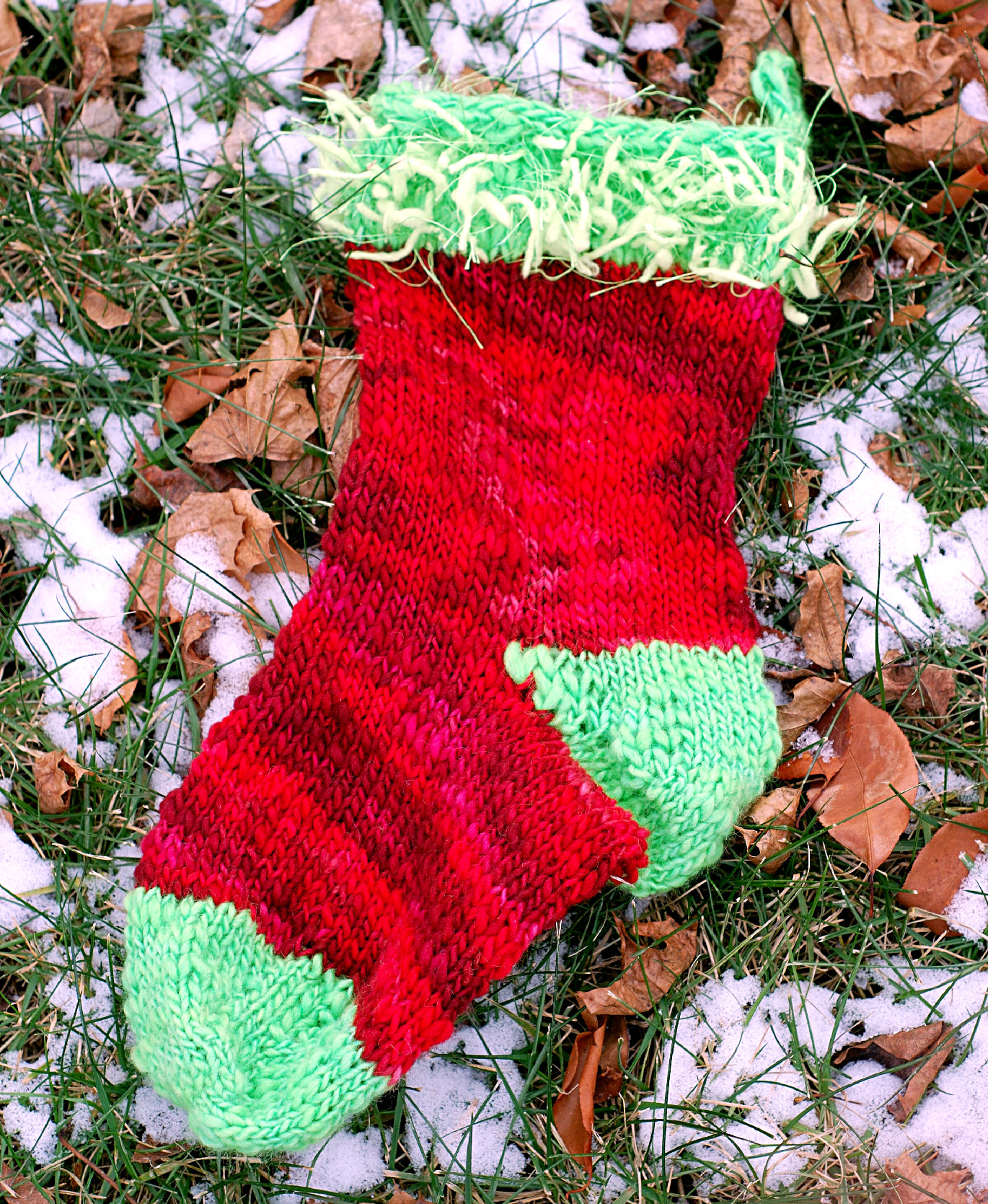 The first of what will heopefully be a series of stockings