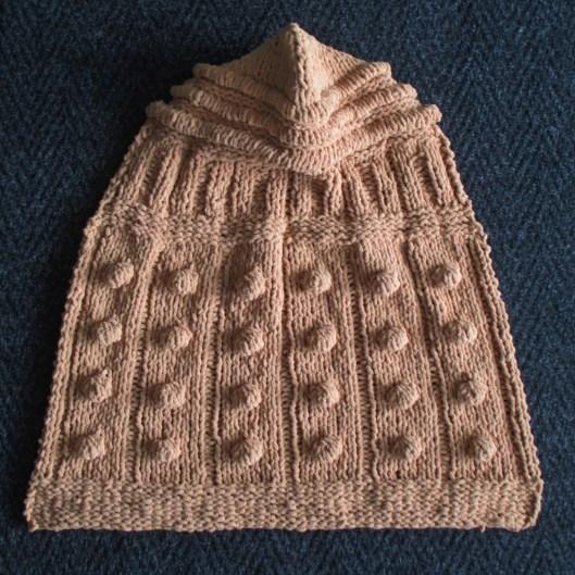 Free Knitting Pattern Dalek Hat : Free knit pattern: Dalek Hooded Baby Blanket Knits & Prints