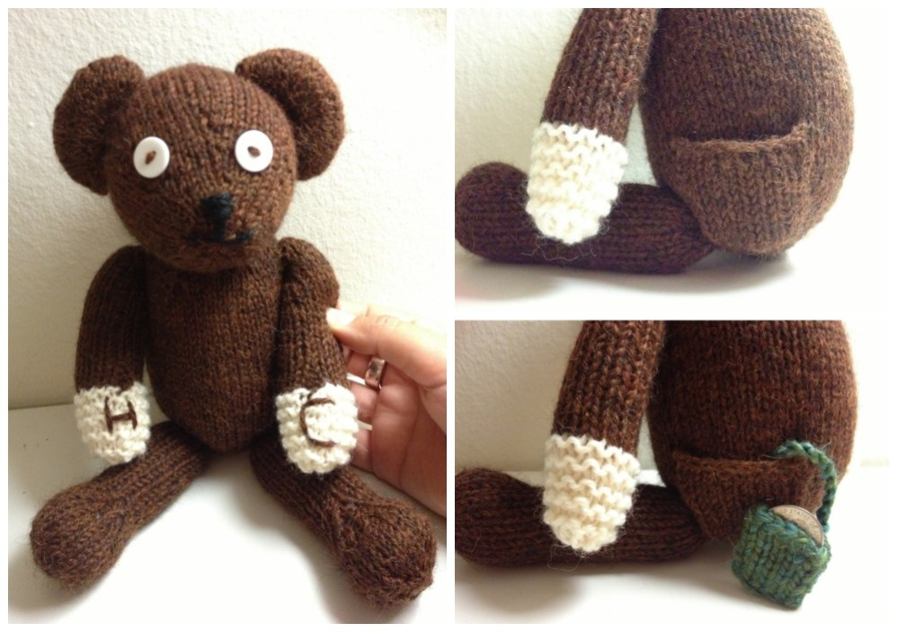 Meet The Pattern: Knit Teddy Bear Plushie