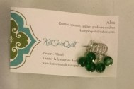GlowGreen stitch markers