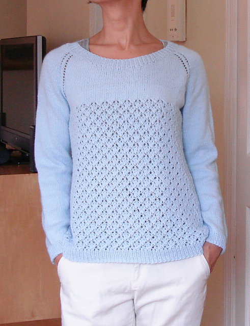 Modification Monday: Seaglass Sweater | knittedbliss.com