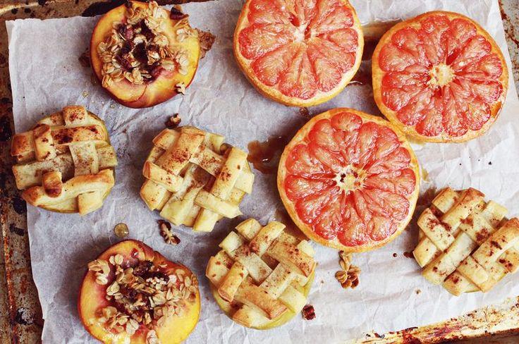 Pin Ups: baked fruit | knittedbliss.com