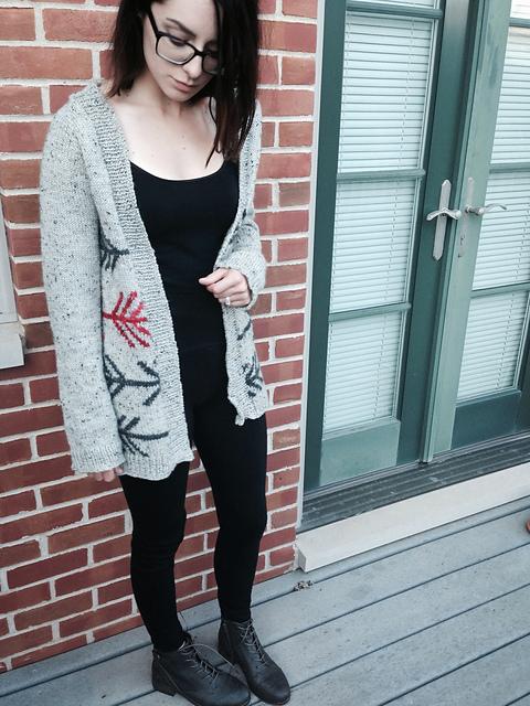 Modification Monday: Wyeth Cardigan| knittedbliss.com