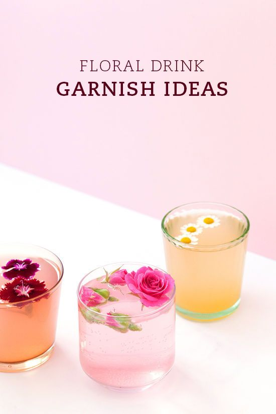 Pin Ups: flower garnishes | knittedbliss.com