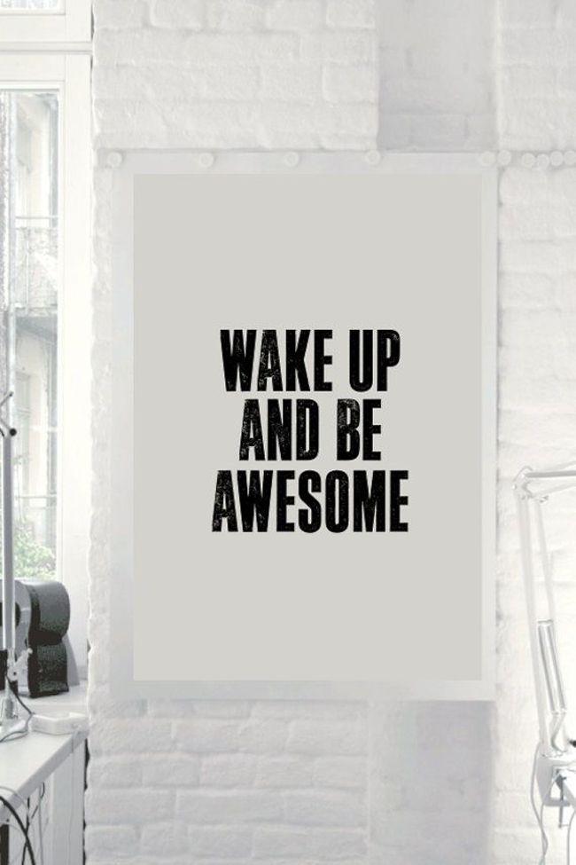 Pin Ups: wake up happy  knittedbliss.com
