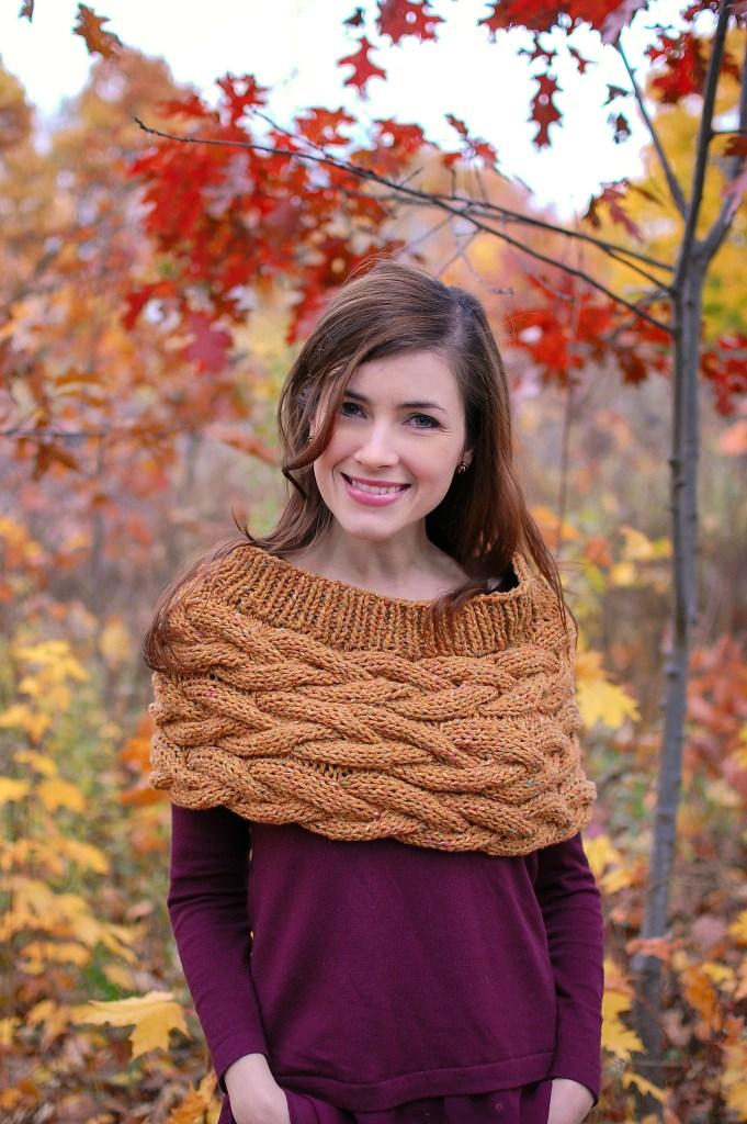 Shaw Hill Cowl | knittedbliss.com