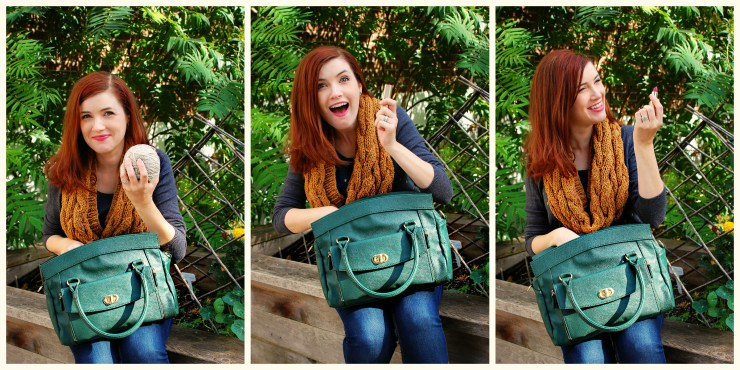 Outtakes: Jordana Paige Cora Bag | knittedbliss.com