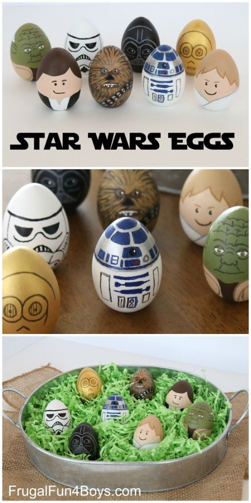 Pin Ups and Link Love: Star Wars Eggs | knittedbliss.com