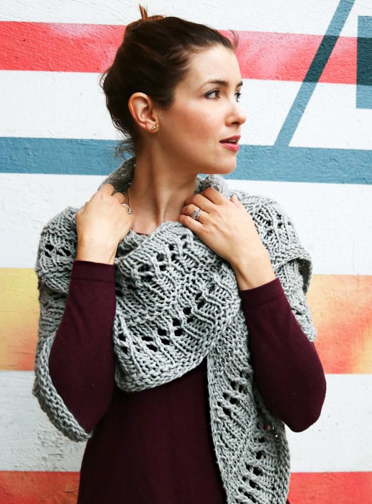 Wool Me Tender Shawl | knittedbliss.com