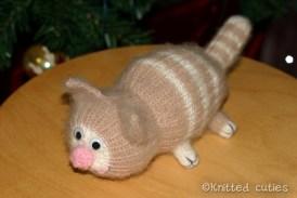 вязаный кот Батон