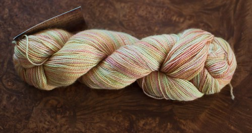 Gaslight Dyeworks Merino Seacell Sock in Blush