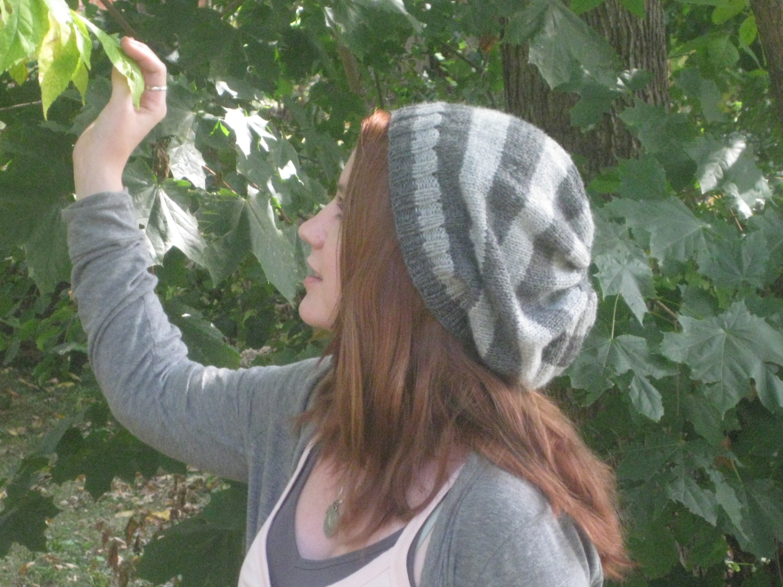 Striped & Slouchy Hat | A Simple Stitch