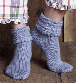 Free Bed Socks Pattern From Vogue Knitting Knitting