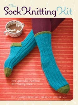 the sock knititng kit giveaway
