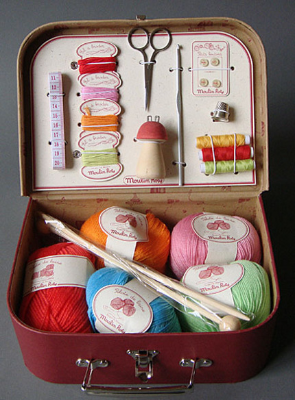 knit with kids Madame La Marchande
