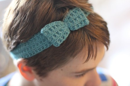 textured bow