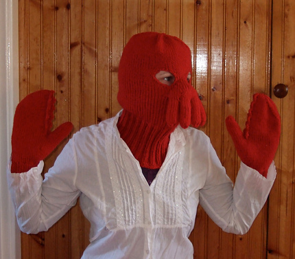 zoidberg mask and mitts