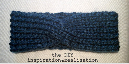 Free knitting pattern twisted cable headband knitting reversible cable headband dt1010fo