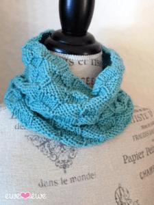 basketweave cowl ewe ewe knits