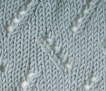 knitting stitches interweave