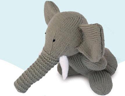 knit elephant sarah keen