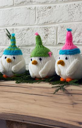 Knit Sweet Little Birds for the Holidays and Beyond