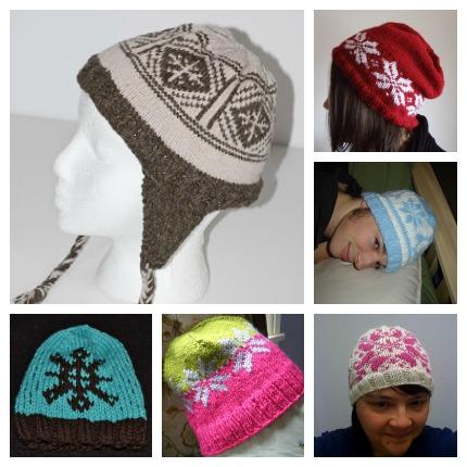snowflake hats