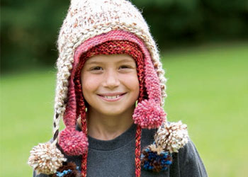 kids hats charity knitting