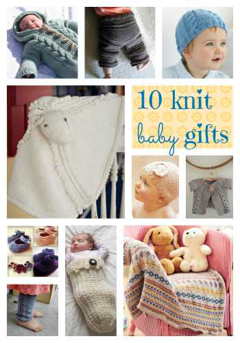 10 knit baby gifts