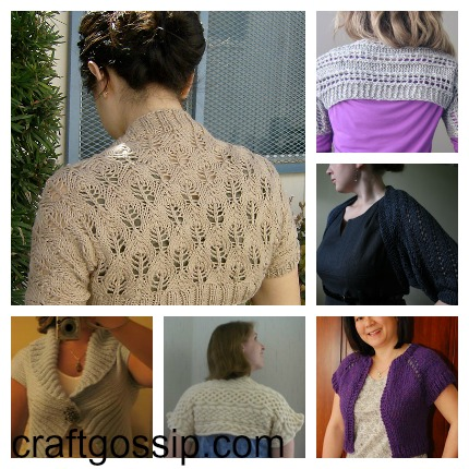 shrug knitting patterns