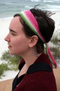 Beach headband - Osborn Fibers