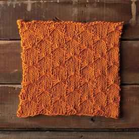 knit the firefly dishcloth from knit picks