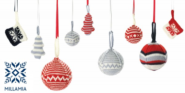 christmas ornaments millamia yarn