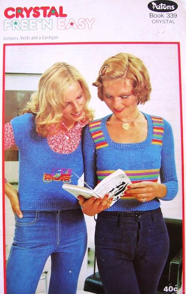 1970s sweater knitting patterns